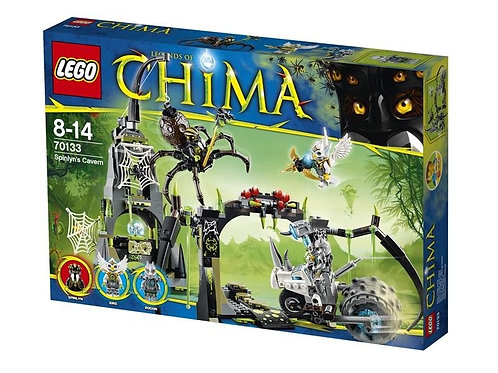 Lego 70133 Chima - Spinlyn's Cavern