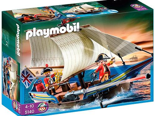Playmobil 5140 - Redcoat Battleship