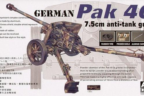 AFV Club - PAK 40 7.5cm Anti-tank Gun 1/35