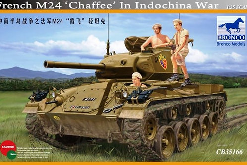 Bronco - French M24 Chaffee in Indochina War 1/35