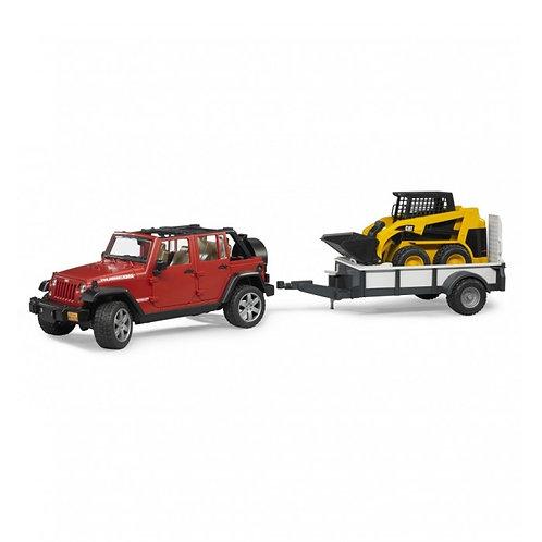 Bruder 02925 - Jeep Wrangler Unlimited Rubicon 1/16