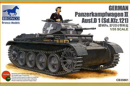 Bronco - German Pz.Kpfw. II Ausf. D1 1/35