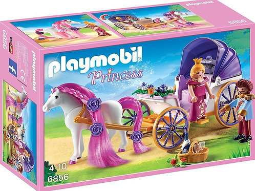Playmobil 6856 Princess - Royal Couple and Carriage with Horse