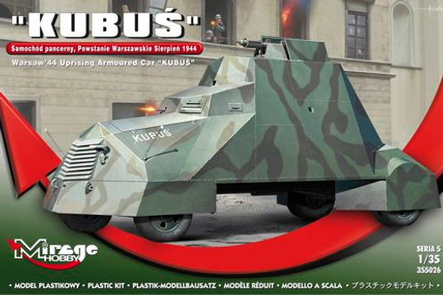 "Mirage - ""Kubus"" Warsaw Uprising Armored Car 1/35"