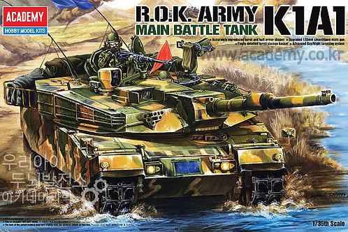 Academy - K1A1 Korean Main Battle Tank 1/35