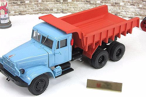 Наш Автопром - Soviet Dump Truck KrAZ-222B 1/43