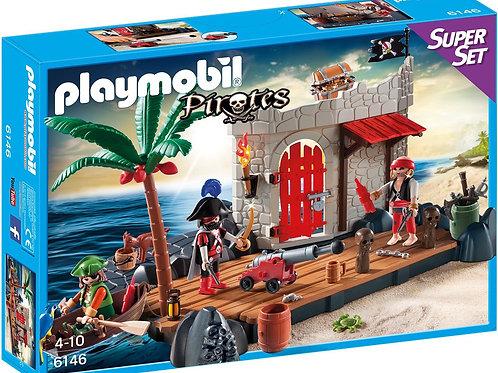 Playmobil 6146 - Pirate Island Super Set