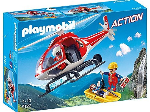 Playmobil 9127 - Mountain Rescue Helicopter