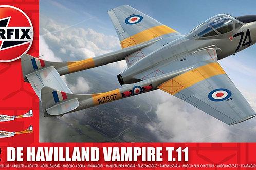 Airfix - de Havilland Vampire T.11 1/72