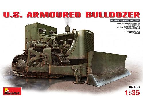 MiniArt - US Armoured Bulldozer 1/35