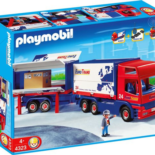 Playmobil 4323 - Truck and Trailer