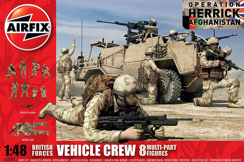 Airfix - British Forces Vehicle Crew 1/48