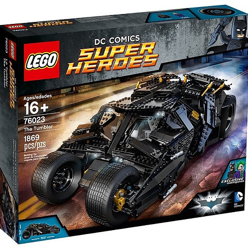 Lego 76023 Super Heroes - The Tumbler - Ultimate Collector Edition