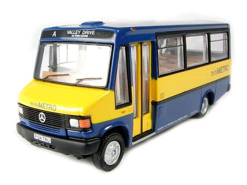 "EFE Diecast - Mercedes Minibus (B) with low roofbox ""Metrobus (Minimetro)"" 1/76"