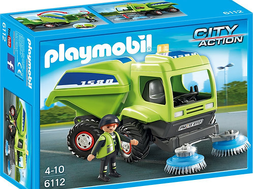 Playmobil 6112 City Action - Street Cleaner