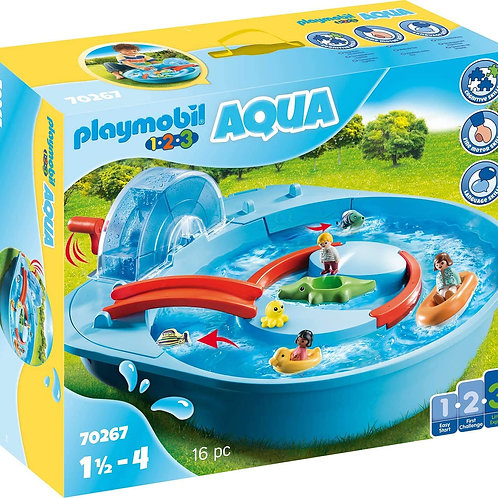 Playmobil 70267 1.2.3 Aqua - Happy Waterway