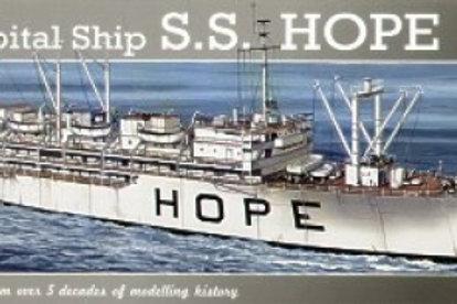 Revell - Hospital Ship S.S. Hope 1/471