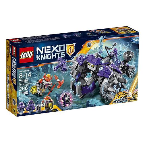 Lego 70350 Nexo Knights - The Three Brothers