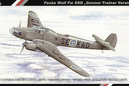 Special Hobby - Focke-Wulf Fw 58B 1/72