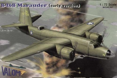 Valom - B-26B Marauder (Early Version) 1/72