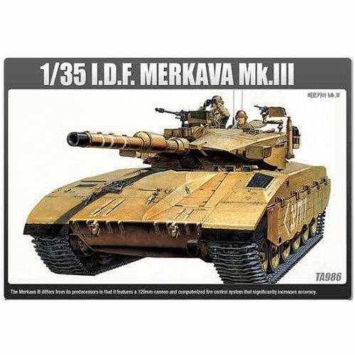 Academy - Merkava III Israeli Defence Force 1/35