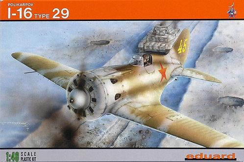 Eduard - Polikarpov I-16 Type 29 1/48