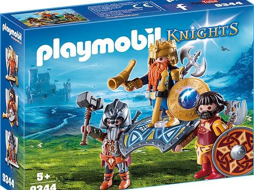 Playmobil 9344 Knights - Dwarf King