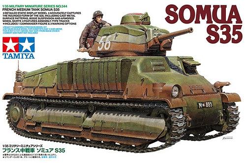 Tamiya - French Medium Tank Somua S35 1/35