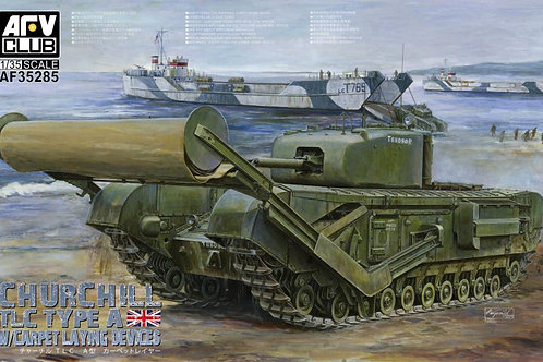 AFV Club - Churchill TLC Type A Carpet Layer 1/35