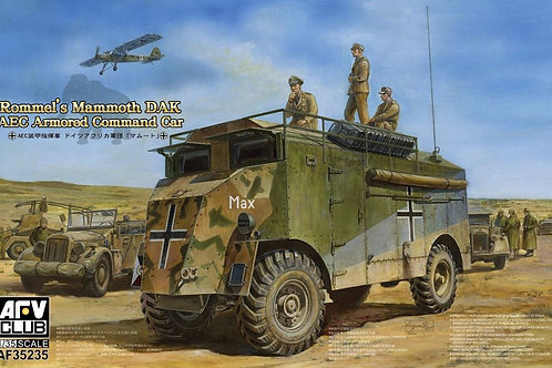 AFV Club - Rommel's Mammoth DAK AEC Armoured Command Vehicle 1/35