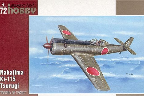 Special Hobby - Nakajima Ki-115 Tsurugi 1/72