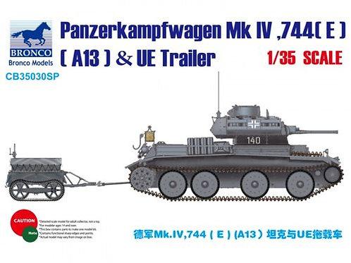 Bronco - Pz.Kpfw.Mk.IV 744(E) (A13 Cruiser) & UE