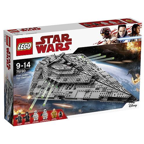 Lego 75190 Star Wars - First Order Star Destroyer