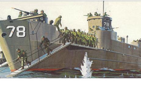 Lindberg - LCI Infantry Landing Craft 1/160