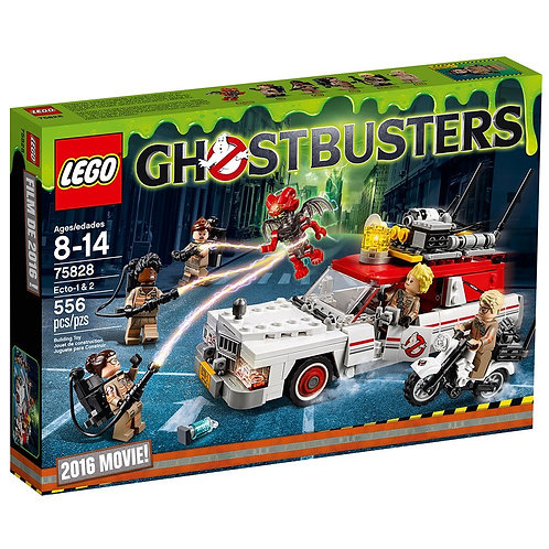 Lego 75828 Ghostbusters - Ghostbusters Ecto-1 & 2