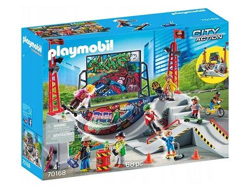 Playmobil 70168 City Action - Skatepark mit 4 Skateboards