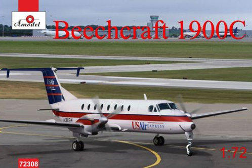 Amodel - Beechcraft 1900C US Air Express 1/72