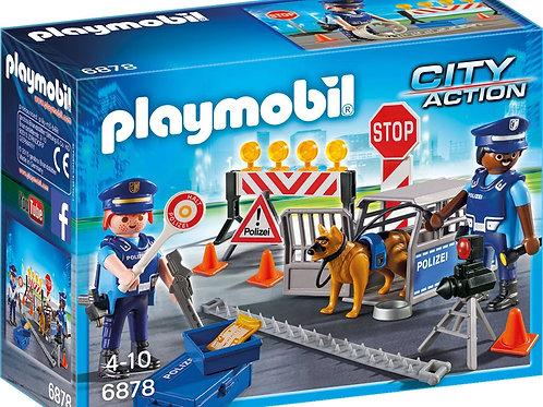 Playmobil 6878 City Action - Polizei-Straßensperre