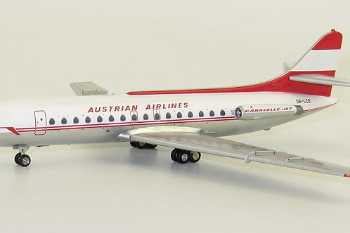Inflight 200 - Caravelle SE210 Austrian Airlines OE-LCE with stand 1/20