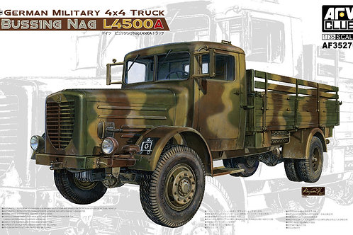 AFV Club - German Truck Büssing Nag L4500A 1/35