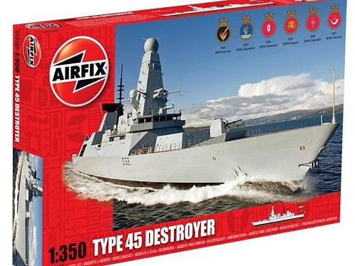 Airfix - Type 45 Destroyer 1/350