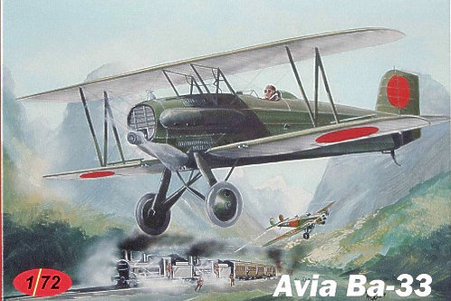 AZ Model - Avia Ba.33 Czechoslovak AF & IJA 1/72