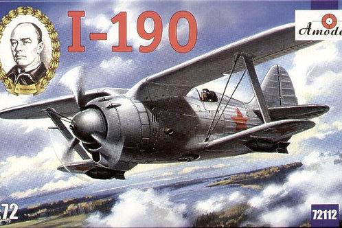 Amodel - Polikarpov I-190 1/72