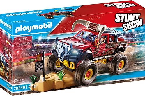 Playmobil 70549 Stuntshow - Monster Truck with Bull Horns