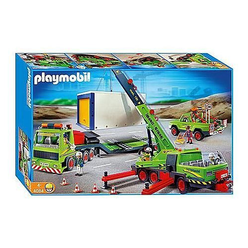 Playmobil 4084 - Mega Construction Set