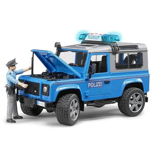 Bruder 02597 - Land Rover Station Wagon Polizeifahrzeug 1/16