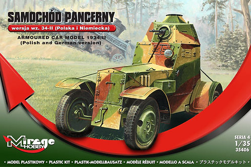Mirage - Polish Armoured Car model 1934/II 1/35