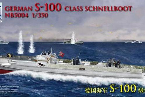 Bronco - German Schnellboot S-100 1/350