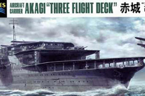 Hasegawa - IJN Aircraft Carrier Akagi 1/700