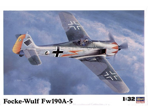 Hasegawa - WWII German Fighter Focke-Wulf Fw-190A-5 1/32